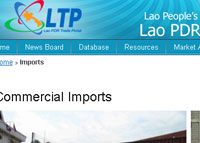 Trade and Customs of Laos